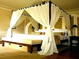 sheer curtains for canopy bed – saratonin.co