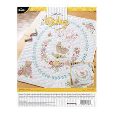Bucilla 47726 Sweet Baby Crib Cover Amazon In Electronics