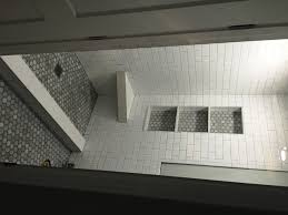 bathroom remodel orange county. Shower Remodel With Ceramic Tile, Carrara Octagon Mosaic Pan \u0026 Niche Bathroom Orange County G