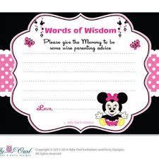 Minnie Mouse Blank Invitation Template Minnie Mouse Baby Shower Invitations Free Invitations Kohler Revel