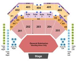 Choctaw Concert Seating Chart Choctaw Casino Resort Tickets And Choctaw Casino Resort