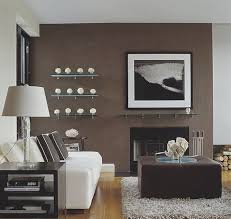 easy and simple chocolate brown accent wall living room ideas simple piece of chocolate