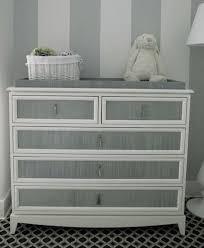 gray and white furniture. Stripes On Furniture - Gustavian Gray And White Striped Dresser Sara  Gilbane Via Atticmag A