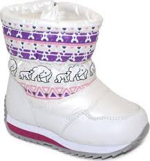 <b>Дутики Капитошка F 5412</b> Р. 25 Белые, Детская Обувь Уфа