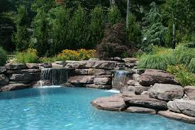 natural looking in ground pools. Natural Water Feature Lagoon Style Pool Great Falls VA Natural Looking In Ground Pools