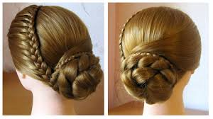 Chignon Avec Tresse Tuto Coiffure Cheveux Long Facile Faire