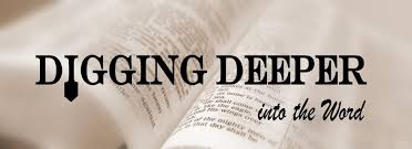 Image result for digging deep bible study