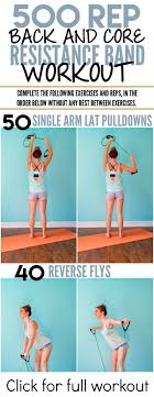 500 rep at home workout using a resistance band from luscious lifts