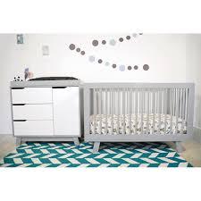 bedroom cool white babyletto grayson mini crib with purple