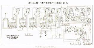 rigpix database schematics manuals n stuff hammarlund sp 200 x · schematic