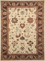 superb quality 100 hand tufted wool rug with oriental modern flower design deals on rugs