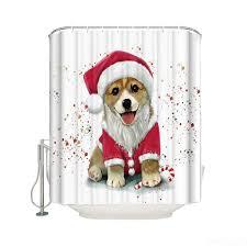 Puppy Santa Cosplay Cute Dog Christmas ...