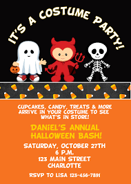 costume party invites attractive halloween costume party invitation for card or