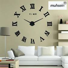 big decorative wall clocks amazing decoration huge