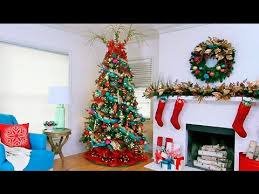 How To Decorate A Designer Christmas Tree Gorgeous Designer Christmas Tree Decorating Ideas YouTube