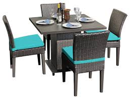 4 chair kitchen table: venus square dining table with  chairs  for  cover set  yr fade warranty