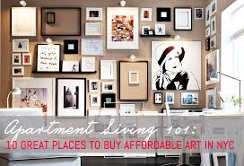 Affordable Apartment Furniture 10 great places to buy affordable art in new york city 6sqft 4396 by uwakikaiketsu.us