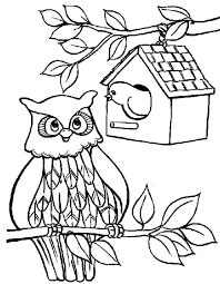Small Picture Birdhouse Coloring Page Coloring Home Coloring Coloring Pages