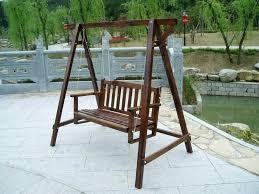 outdoor swing chair international caravan royal 3 garden with canopy