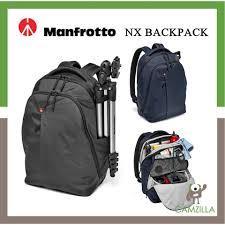<b>Manfrotto NX</b> camera & laptop backpack V <b>GREY</b> for DSLR/CSC <b>MB</b> ...