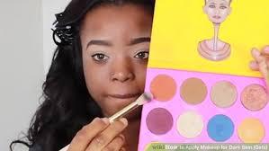 image led apply makeup for dark skin s step 9