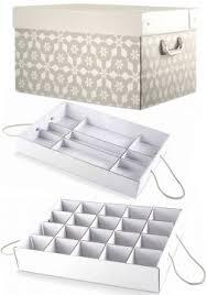 Sie hat eine fachaufteilung für weihnachtskugeln. Tcm Tchibo Weihnachtsdeko Ordnungsbox Aufbewahrungsbox Weihnachtsbox 46 5x24x34 Ebay