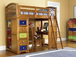 bunk loft beds with storage