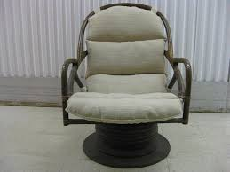 image of furniture relaxing swivel rocker chair design with rattan chair with regard to swivel