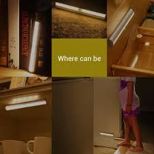 Motion Sensor Stair Lights Save 55 Le Led Closet Light Motion Sensing Under Cabinet