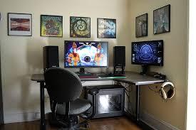 battlestation with ikea bekant corner desk right adjule height desks for gaming best pc