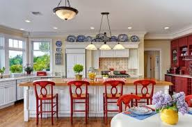Popular Red, Blue And Yellow Kitchen With Blue And Yellow Country Kitchen 24