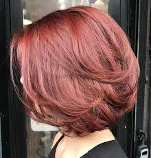 Hairstyles Classic Layered Bob Hairstyles For Thick Hair Newest 70