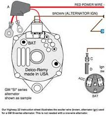 chevy one wire alternator diagram chevy image one wire alternator diagram images on chevy one wire alternator diagram