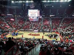 Unlv Rebels Basketball Seating Chart Thomas And Mack Center Section 116 Rateyourseats Com