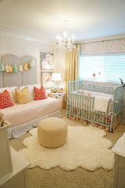 daybed in nursery. Simple Daybed Kbgdesign Nursery Baby Girl Nursery Ideas Daybed Painted Furniture  Wallpaper Crown Moulding Drapery And Daybed In Nursery U