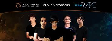 team rave unveil new sponsor kill ping dota blast dota blast