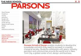 Parsons School Of Design Career Services Parsons School Of Design Jobs Minimalist Interior Design