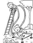 Картинки по запросу картинки дети катаются с  горки
