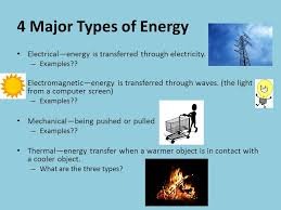 Different Types Of Energy Transfer Essay Research Paper Example