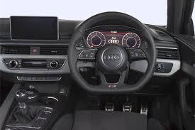 black audi a4 interior. audi a4 avant 5dr interior black