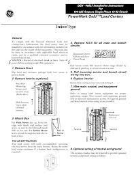 ge load center wiring diagram ge diy wiring diagrams ge powermark gold load center wiring diagram nodasystech com