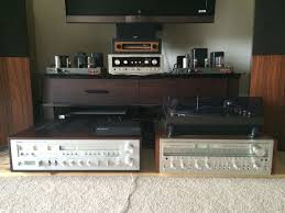 vintage yamaha receiver. vintage yamaha receivers, cr-3020 on the left, one of only 2000 made receiver l