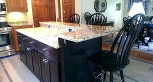 shiny granite countertop overhang depth or granite countertop overhang depth and bar counter overhang granite counter