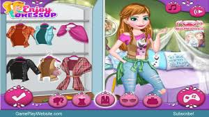 Modern Frozen Sisters Makeover And Dress Up Online Game Baby