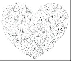 Love Coloring Pages For Adults Printable Love Heart Coloring Pages