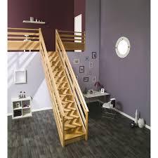 Escalier Soft Quart Tournant Bas Et Haut Gauche H274 Rampe Tubes