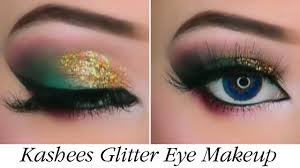 kashees glitter eye makeup by kashif aslam kashee s beauty parlor