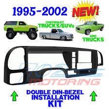 1995 2002 silverado gmc sierra car stereo radio double din install dash kit
