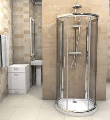 Perfect Curved Shower Enclosures Uk D Shaped Enclosure X For Inspiration Decorating