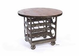 modern industrial wine cellar table cart 2 250 00